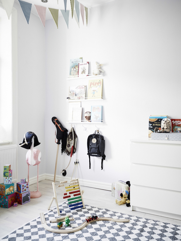 My scandinavian home grey white and a cute kids room in a lovely swedish space for Scandinavian childrens bedroom