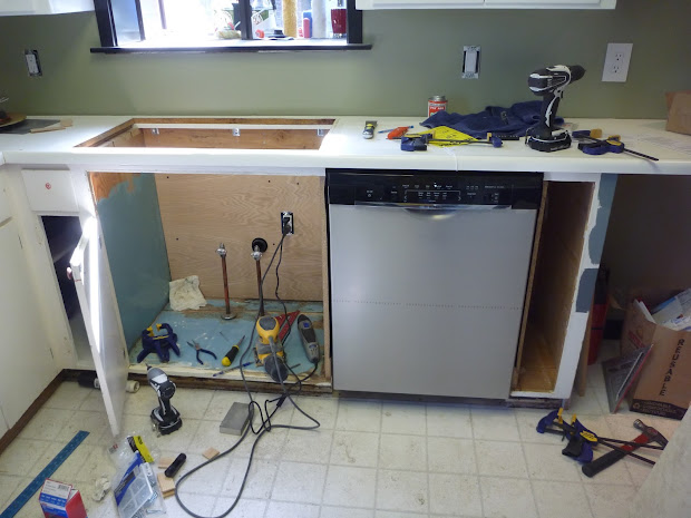 Install Dishwasher in Cabinet