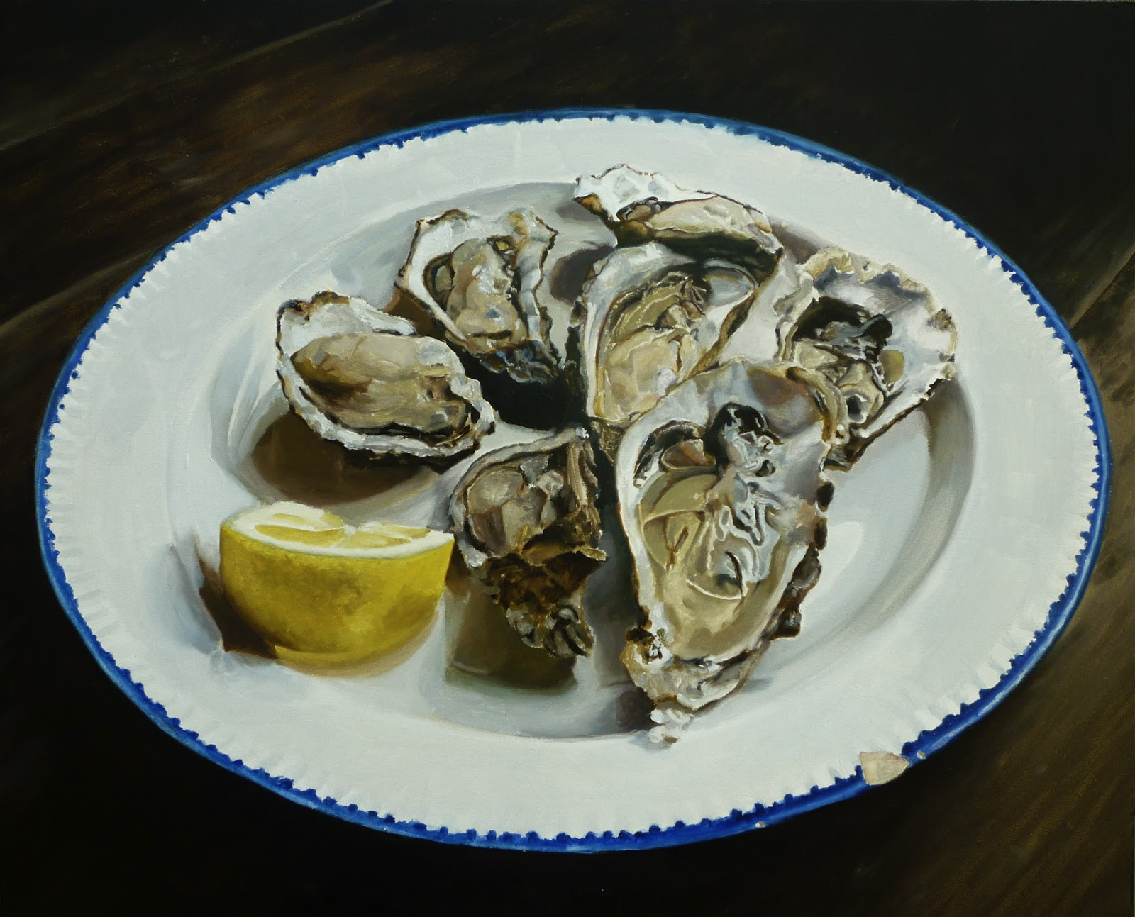 Gallery For gt Oyster Paintings