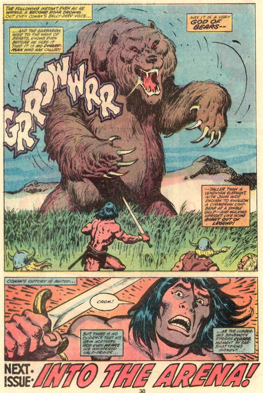 Conan the Barbarian (1970) Issue #109 #121 - English 18