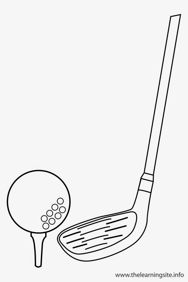 golf balls coloring pages - photo#29
