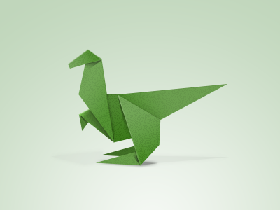 dinosaur origami for kids
