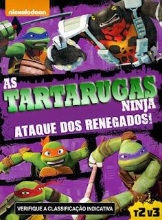 As Tartarugas Ninja: Ataque dos Renegados - DVDRip Dublado