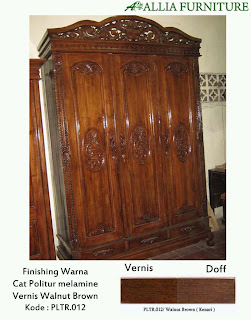 Contoh Furniture Politure Walnut Brown