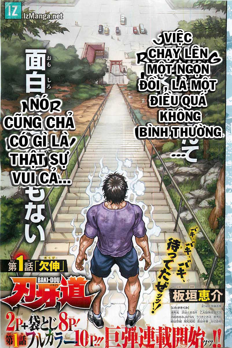 Baki Dou chap 1 Trang 2 - Mangak.info