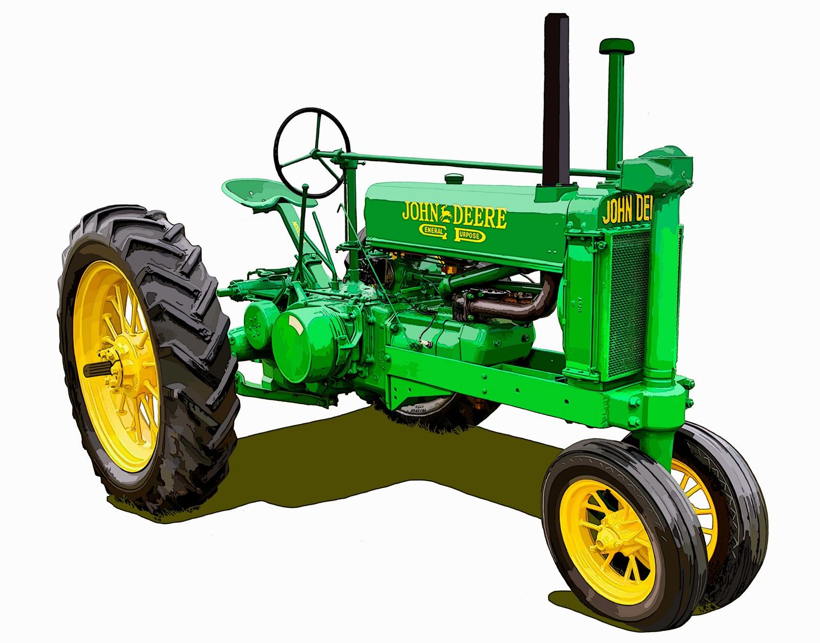 The Oldest John Deere : The john deere model a tractor