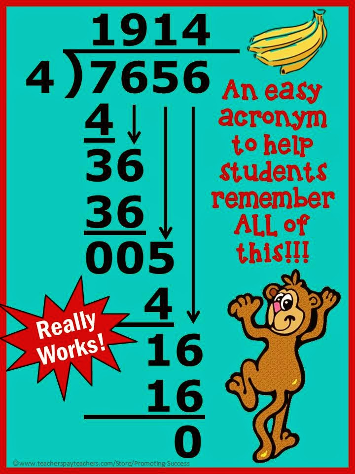 Promoting Success Long Division Worksheets Games and Tips – Long Division Fun Worksheets