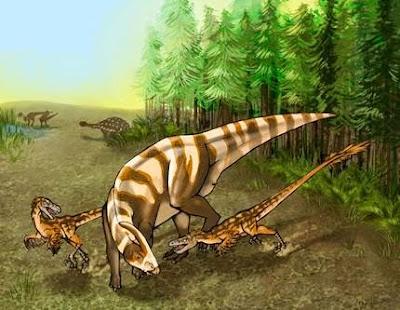 Spesies Baru Dinosaurus dengan Penciuman Tajam