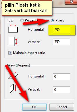 cara mengubah gambar, edit foto, mengurangi ukuran resolusi foto pas untuk keperluan kartu digital ptk nuptk