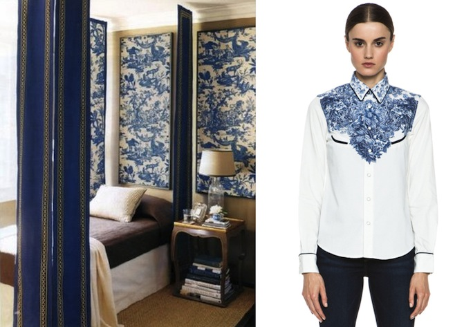 Chinoiserie inspired fashion