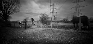 Enfield Lock | Holga 120 WPC Pinhole Camera