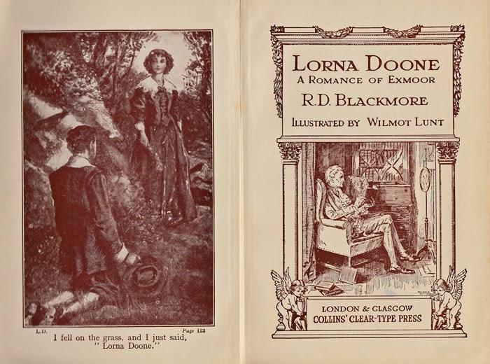 Lorna Doone, RD Blackmore, Exmoor.
