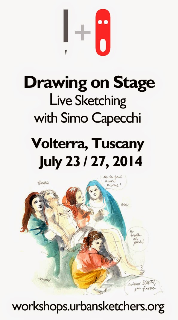 Drawing on Stage