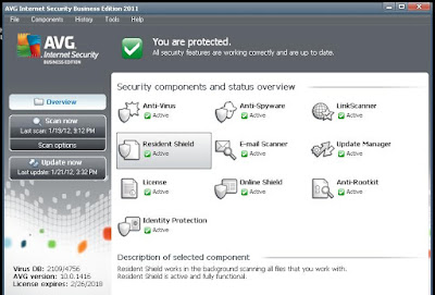 avg antivirus internet security