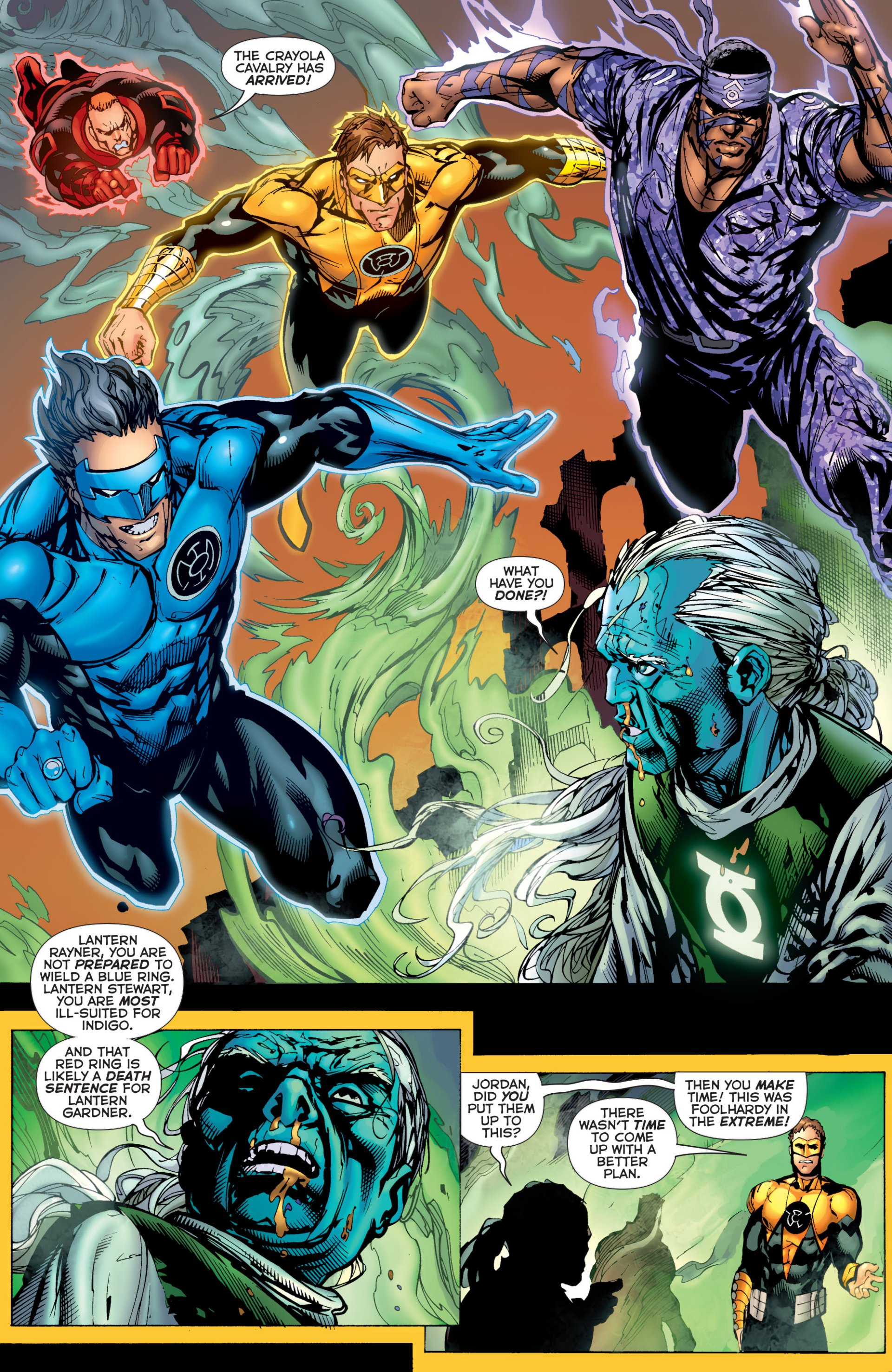 Read online Green Lantern Corps (2006) comic -  Issue #59 - 15