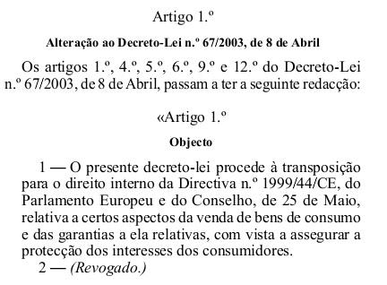 Decreto lei 84/2008 dre