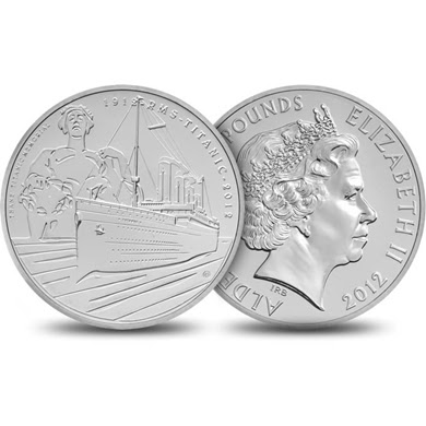Royal Mint, Titanic, Coin