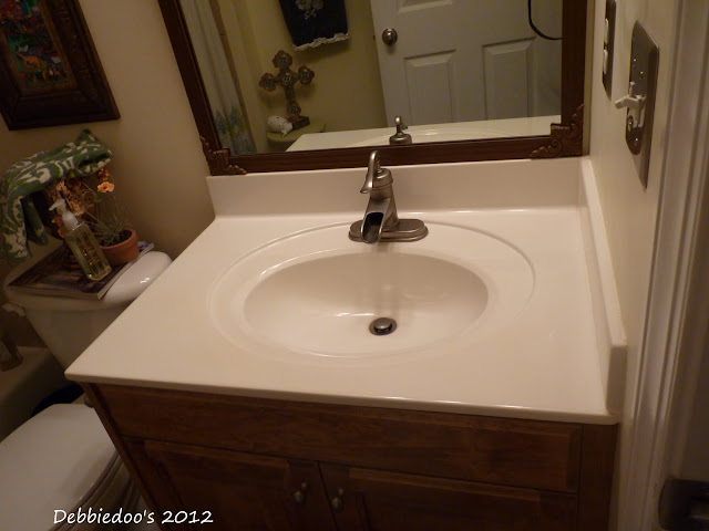 Debbiedoo 39 S Giani Granite Paint For Counter Tops Final Reveal