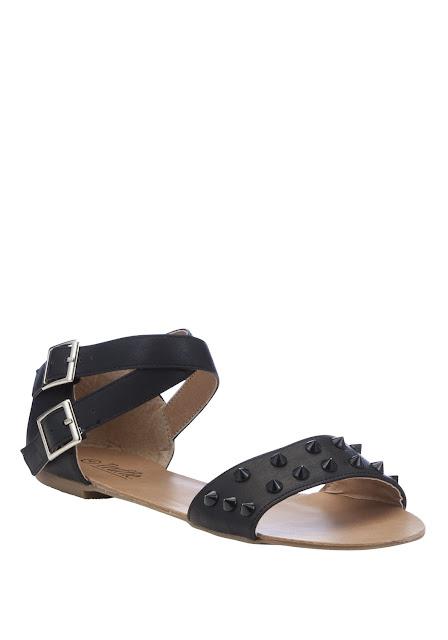 spike strap sandals