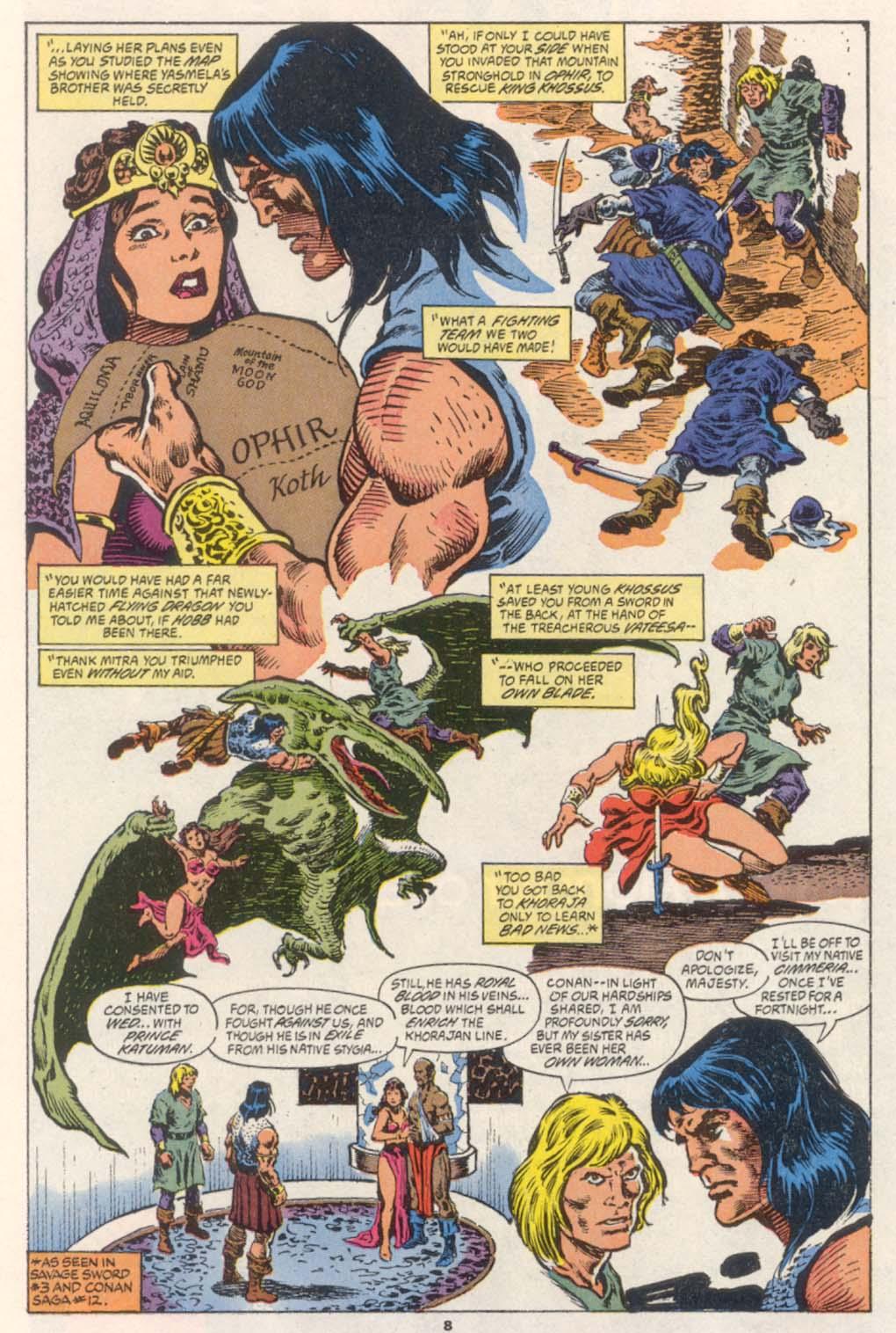 Conan the Barbarian (1970) Issue #252 #264 - English 7