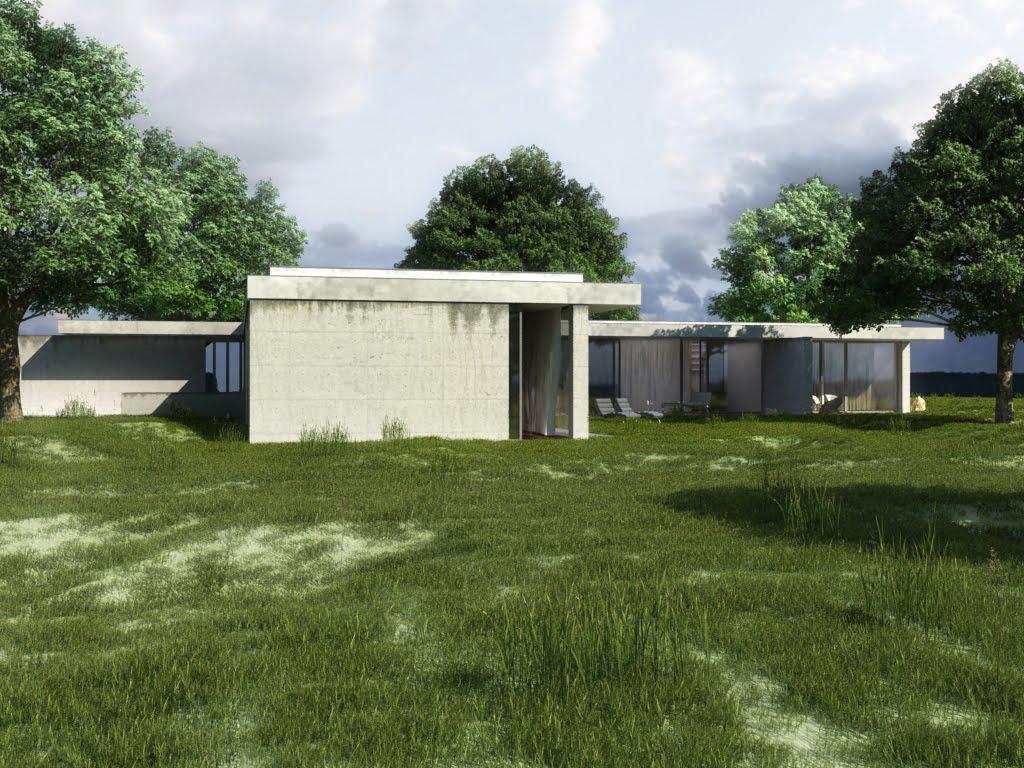 Architecture & photographie: maison contemporaine en béton