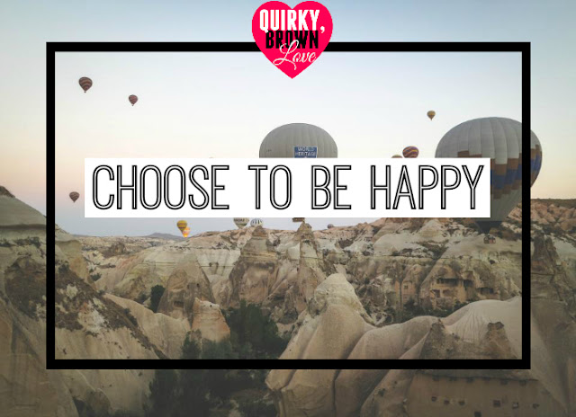 Quirky, Brown Love | Decide To Be Happy