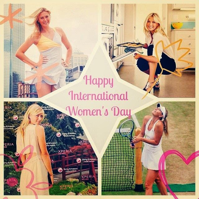 Maria Sharapova shares a few pictures into her Instagram account on Tuesday, April 1, 2014