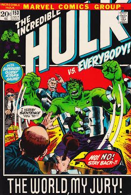 Incredible Hulk #153, Trial