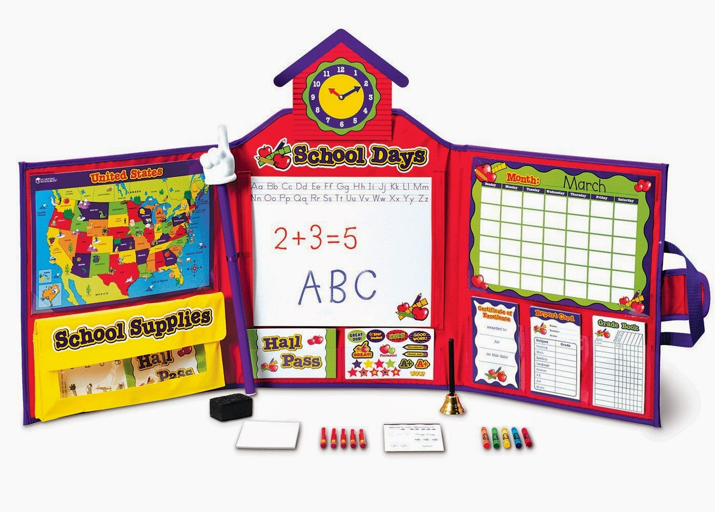 Learning Resources Pretend & Play School Set
