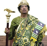 Tribut an den Knig der Knige von Afrika Muammar al-Gaddafi