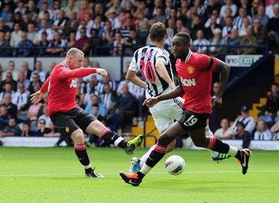 Wayne Rooney Manchester United vs West Brom Barclays Premier League