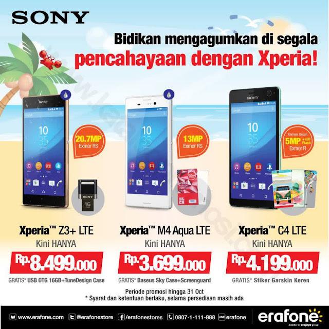 Promo Erafone Sony Xperia Special Offer Berlaku Sd. 31 Oktober 2015
