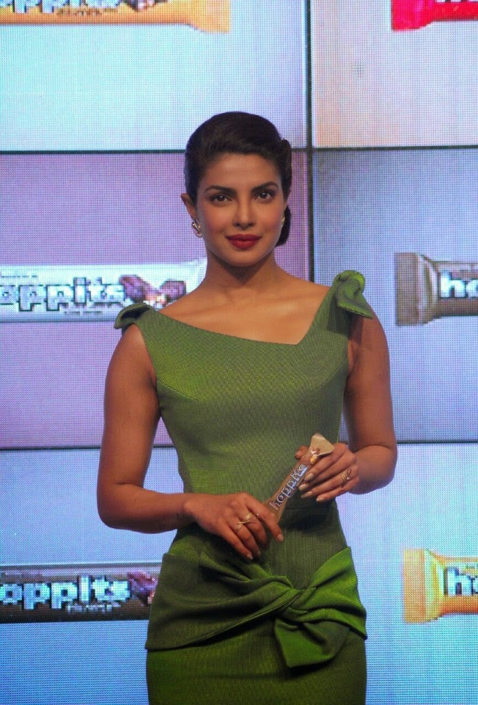 Sweet Priyanka Chopra at Hoppit Chocolate Launch