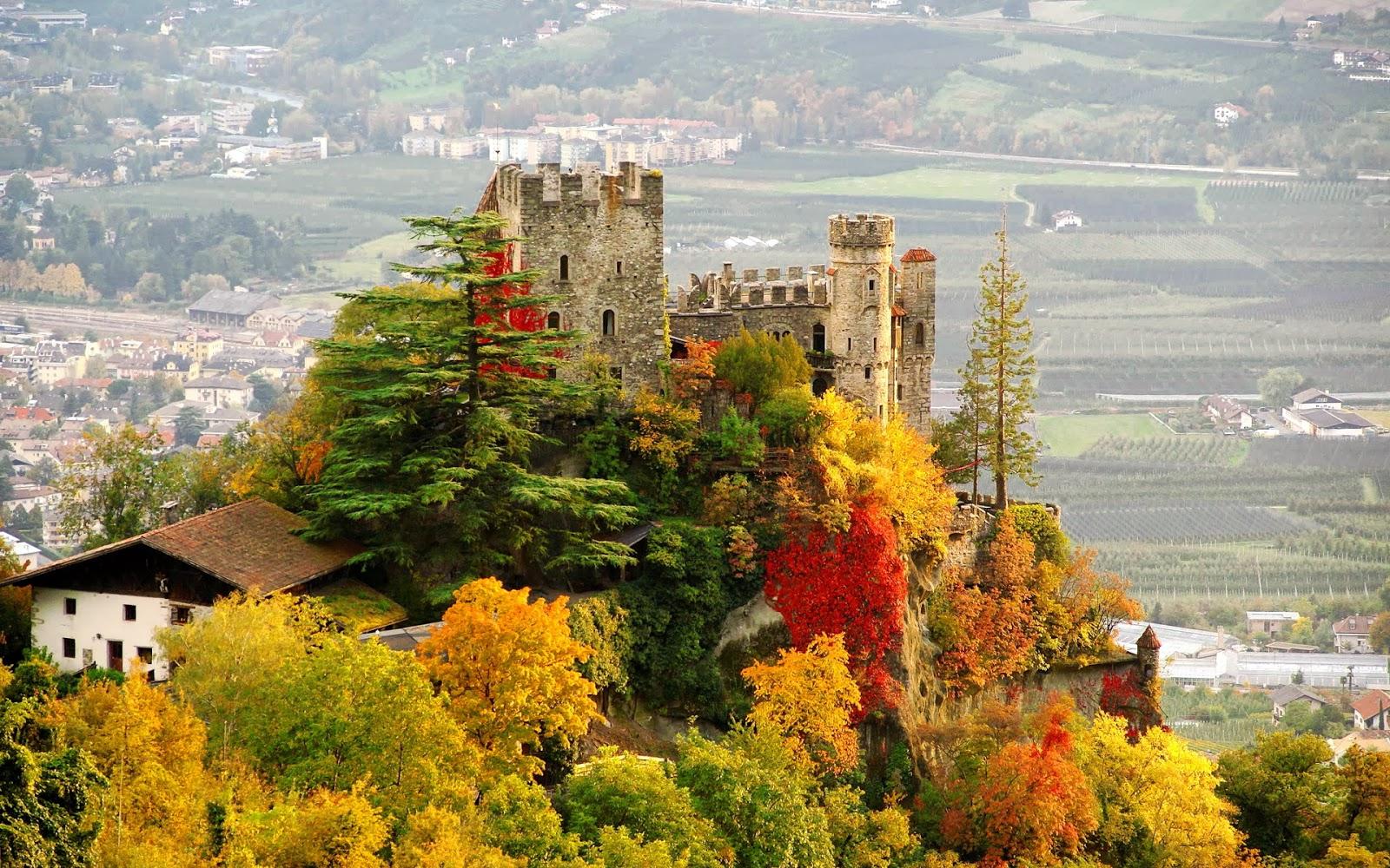 Castillo Brunnenburg en italia