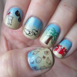 winstonia nail art
