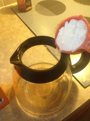 Industrious Thirty-One: How to Clean Your Coffee Maker Without Using Soap