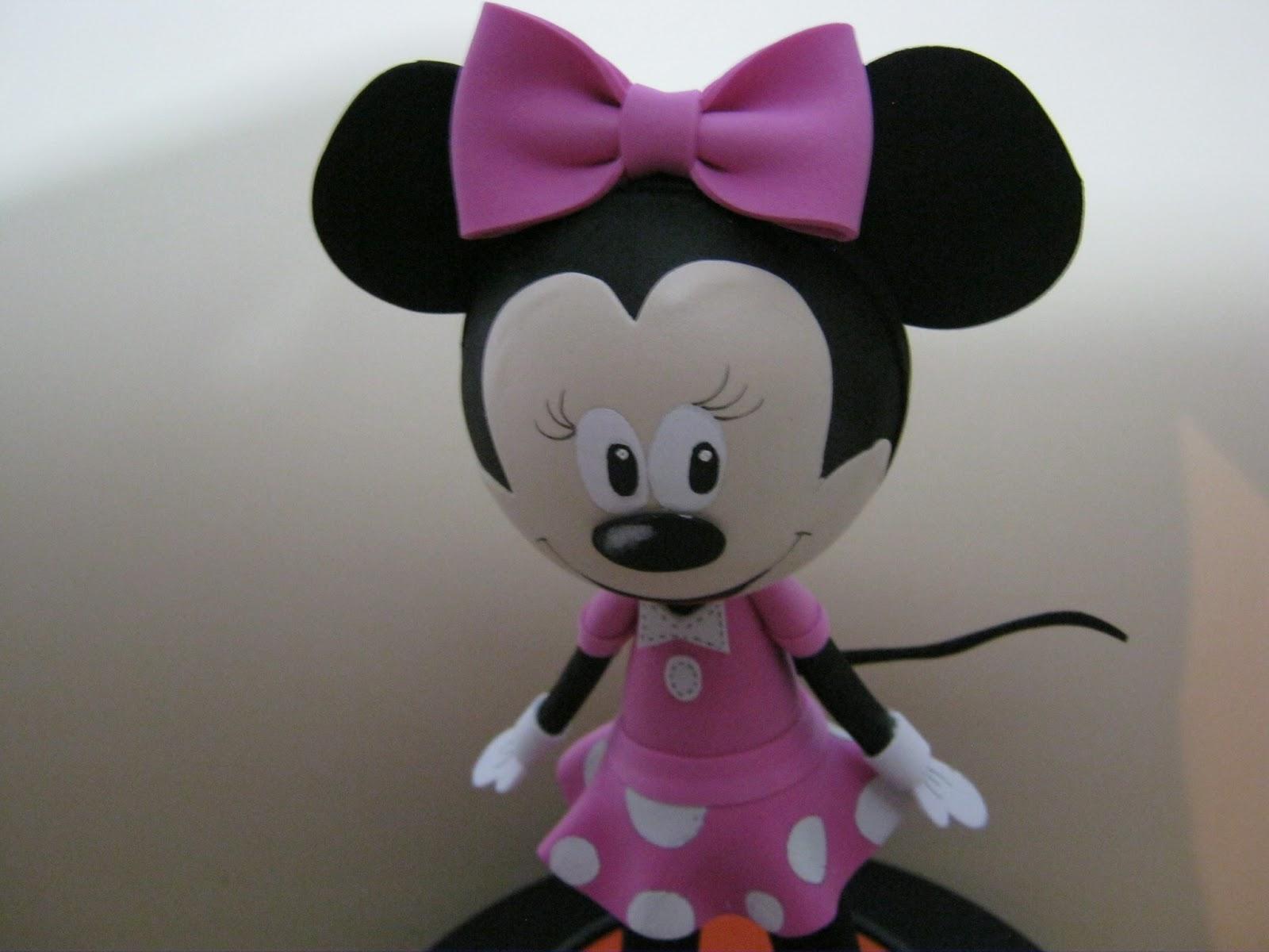 Mis fofuchas 2013 artfoamicol fofucha minnie mouse de - Lamparas con goma eva ...