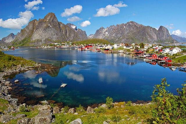 fiordo de Reine, en Noruega