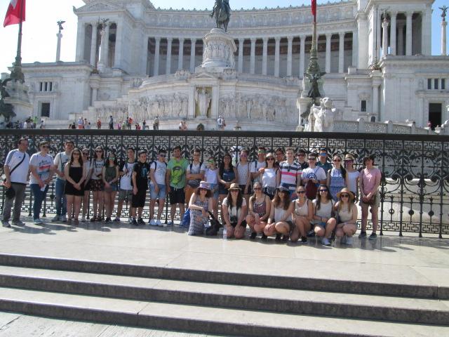 Viaxe a Roma 2016