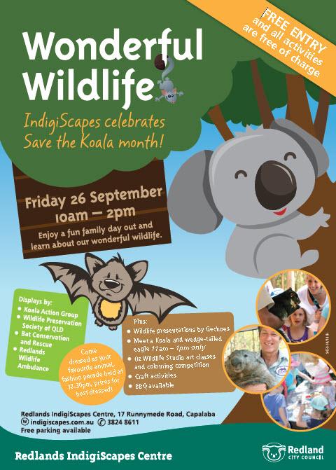 Wonderful Wildlife Day at Redlands Indigiscapes on 26 September 2014