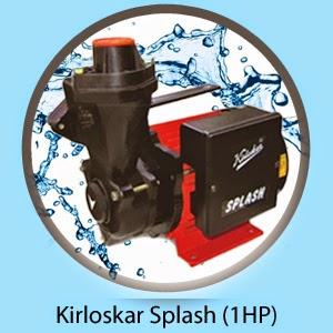 Kirloskar Splash (1HP) Online, India - Pumpkart.com