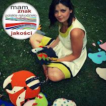 Witaj !   Jestem Agata. Projektuję i tworzę autorskie zabawki dla dużych i małych   ♥