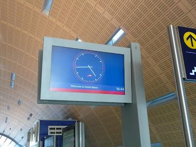 Orologio Dubai Metro