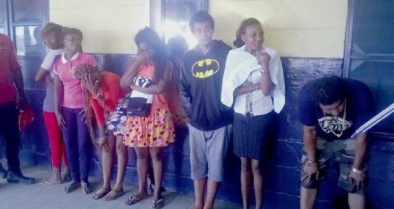 ghanaian actors arrested accra ghana