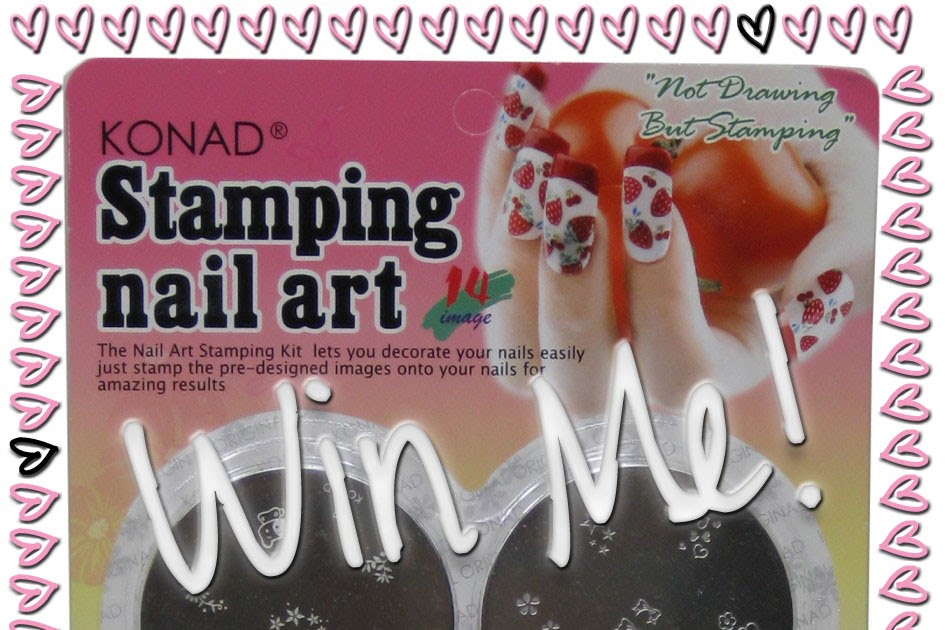 Giveaway: Konad Stamping Plate Kit! | I Know all the Words