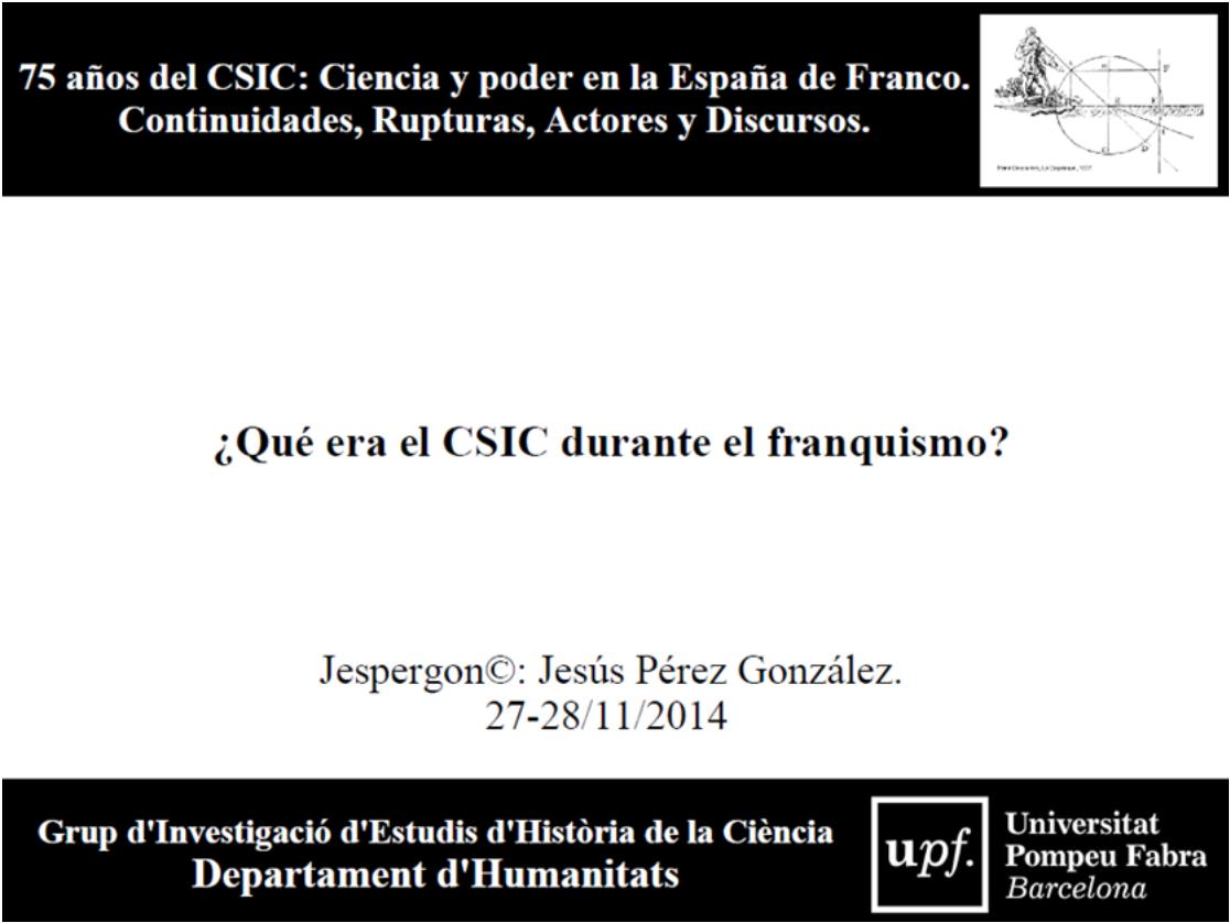 Presentació UPF CSIC (2014)