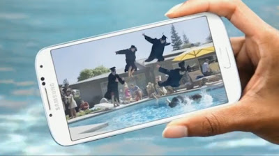 Samsung Galaxy S4 Pool Party Commercial 2013