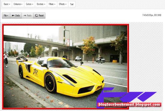 bagaimana edit foto tanpa software di freeonlinephotoeditor.com