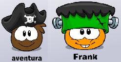Mascotes  do blog