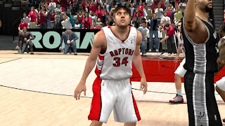 NBA 2K13 Toronto Raptors Home Jersey Patch